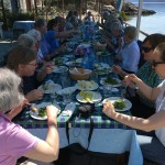 Pelion Laade Lunch am Meer