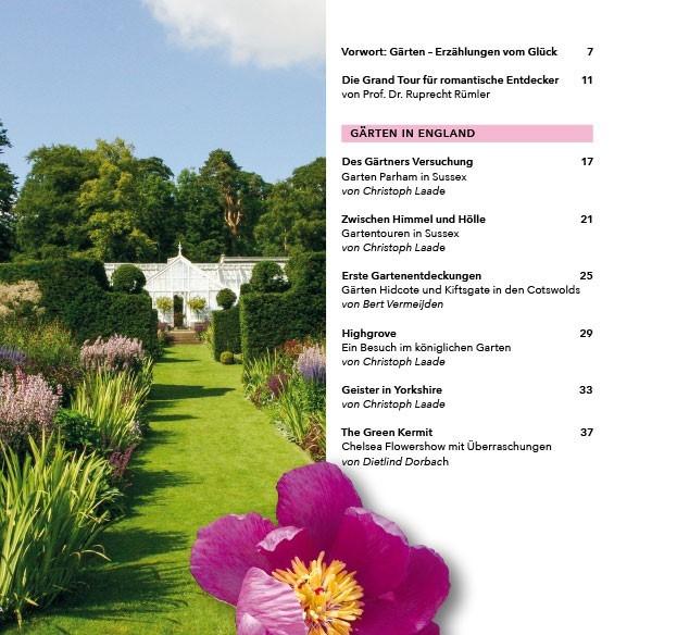 Gärten.. Inhaltsverzeichnis 1 b